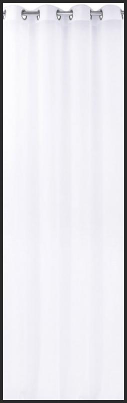 Firany Gładkie Długie 145x250 Na Przelotkach